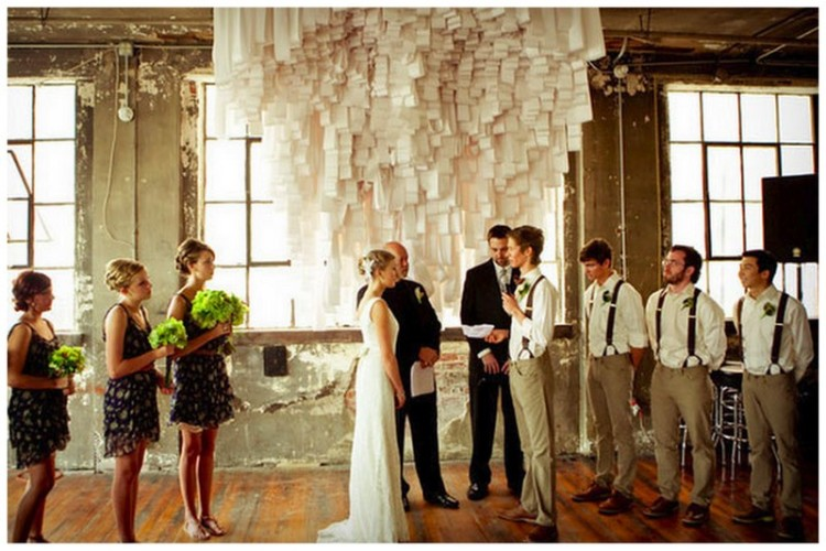 Alternative ceremony backdrops